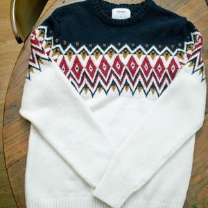 🌺Old Navy Tribal Printed Sweater